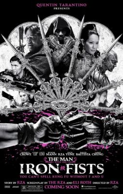 "Постер к фильму ""Человек с железными кулаками"" /The Man with the Iron Fists/ (2012)"