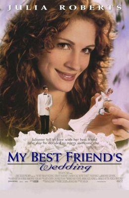 """Постер к фильму """"Свадьба лучшего друга"""" /My Best Friend's Wedding/ (1997)"""