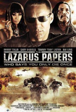 """Постер к фильму """"Наемник"""" /The Lazarus Papers/ (2010)"""