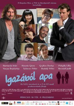 """Постер к фильму """"На самом деле, папа"""" /Igazabol apa/ (2010)"""