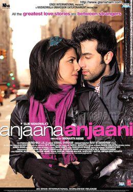 "Постер к фильму ""Незнакомец и незнакомка"" /Anjaana Anjaani/ (2010)"