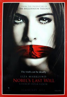 """Постер к фильму """"Последнее завещание Нобеля"""" /Nobels testamente/ (2012)"""