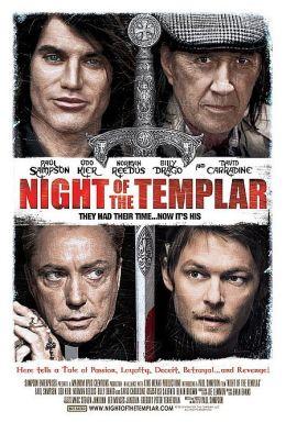 """Постер к фильму """"Ночь тамплиера"""" /Night of the Templar/ (2012)"""