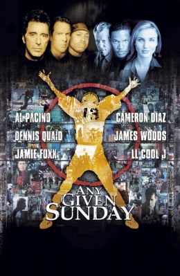 """Постер к фильму """"Каждое воскресенье"""" /Any Given Sunday/ (1999)"""