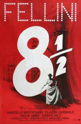 """Постер к фильму """"8 с половиной"""" /81/2/ (1963)"""