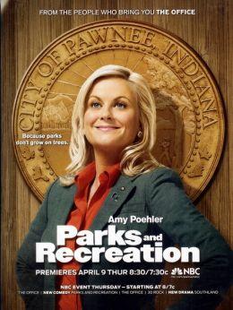 """Постер к фильму """"Парки и зоны отдыха"""" /Parks and Recreation/ (2008)"""
