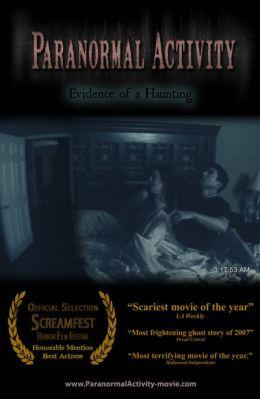 """Постер к фильму """"Паранормальное явление"""" /Paranormal Activity/ (2007)"""