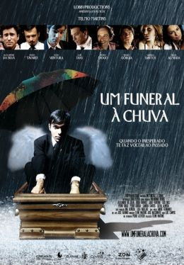 """Постер к фильму """"Похороны в дождь"""" /Um Funeral a Chuva/ (2010)"""