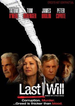 """Постер к фильму """"Последняя воля"""" /Last Will/ (2010)"""