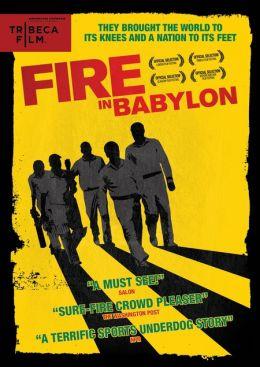 "Постер к фильму ""Пожар в Вавилоне"" /Fire in Babylon/ (2010)"