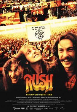 "Постер к фильму ""Раш: За кулисами"" /Rush: Beyond the Lighted Stage/ (2010)"