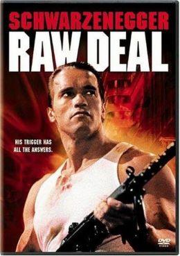 """Постер к фильму """"Без компромиссов"""" /Raw Deal/ (1986)"""