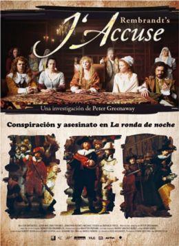 """Постер к фильму """"Рембрандт: я обвиняю"""" /Rembrandt's J'accuse/ (2008)"""