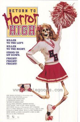 """Постер к фильму """"Возвращение в школу ужасов"""" /Return to Horror High/ (1987)"""