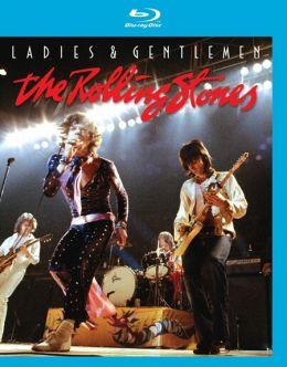 """Постер к фильму """"Дамы и господа... THE ROLLING STONES"""" /Ladies and Gentlemen... The Rolling Stones/ (1973)"""