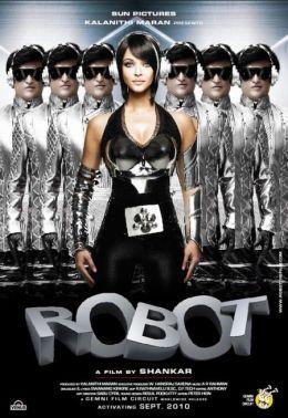 """Постер к фильму """"Робот"""" /Enthiran/ (2010)"""