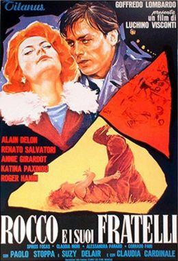"""Постер к фильму """"Рокко и его братья"""" /Rocco e i Suoi Fratelli/ (1960)"""