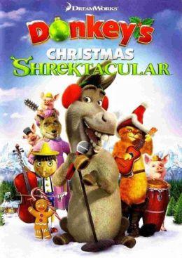 """Постер к фильму """"Рождественский Шректакль Осла"""" /Donkey's Christmas Shrektacular/ (2010)"""