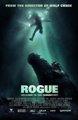 """Постер к фильму """"Крокодил"""" /Rogue/ (2007)"""