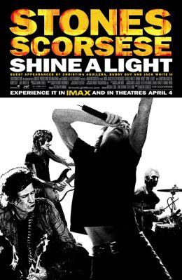 "Постер к фильму ""The Rolling Stones. Да будет свет"" /Shine a Light/ (2008)"