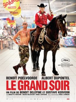 """Постер к фильму """"Большая вечеринка"""" /Le grand soir/ (2012)"""