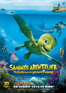 """Постер к фильму """"Шевели ластами"""" /Sammy's avonturen: De geheime doorgang/ (2010)"""