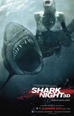 """Постер к фильму """"Челюсти 3D"""" /Shark Night 3D/ (2011)"""