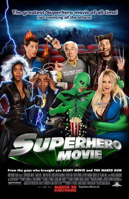 """Постер к фильму """"Супергеройское кино"""" /Superhero Movie/ (2008)"""