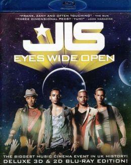 """Постер к фильму """"JLS: Широко открытые глаза 3D"""" /JLS: Eyes Wide Open 3D/ (2011)"""