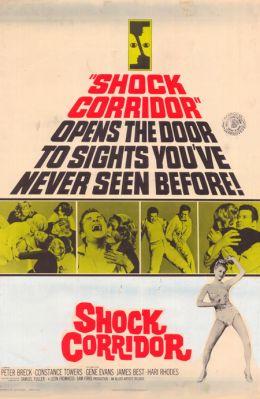 """Постер к фильму """"Шоковый коридор"""" /Shock Corridor/ (1963)"""