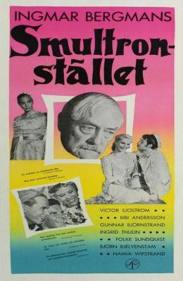 """Постер к фильму """"Земляничная поляна"""" /Smultronstallet/ (1957)"""