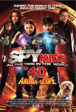 "A poster for the movie ""Spy Kids in 4D"" / Spy Kids 4: All the Time in the World / (2011)"