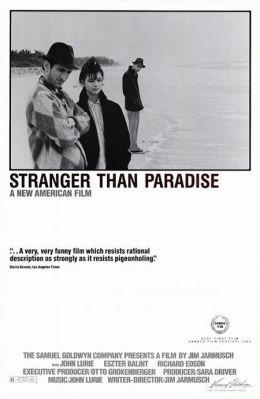 """Постер к фильму """"Более странно, чем в раю"""" /Stranger Than Paradise/ (1984)"""