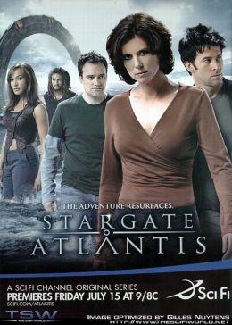 """Постер к фильму """"Звездные врата: Атлантида"""" /Stargate: Atlantis/ (2004)"""
