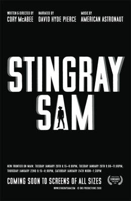"""Постер к фильму """"Сэм - электрический скат"""" /Stingray Sam/ (2009)"""