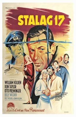 """Постер к фильму """"Лагерь для военнопленных №17"""" /Stalag 17/ (1953)"""