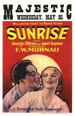 """Постер к фильму """"Восход солнца"""" /Sunrise: A Song of Two Humans/ (1927)"""