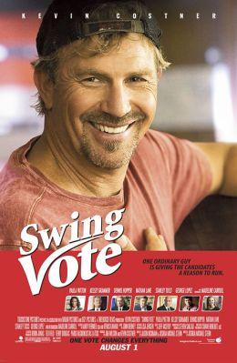 """Постер к фильму """"На трезвую голову"""" /Swing Vote/ (2008)"""