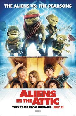 """Постер к фильму """"Пришельцы на чердаке"""" /Aliens in the Attic/ (2009)"""
