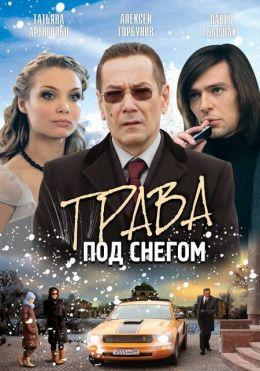 "Постер к фильму ""Трава под снегом"" (2010)"