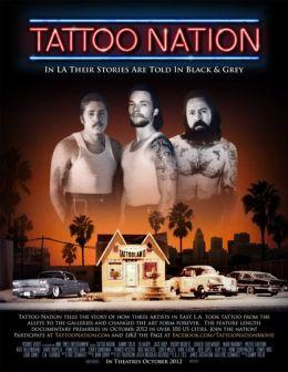 """Постер к фильму """"Tattoo Nation"""" /Tattoo Nation/ (2012)"""