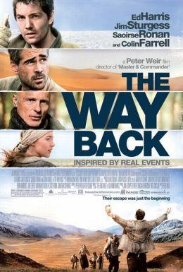 """Постер к фильму """"Путь домой"""" /The Way Back/ (2010)"""