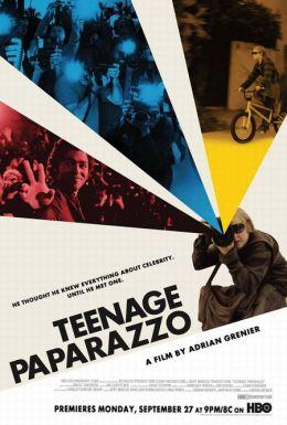 """Постер к фильму """"Юный папарацци"""" /Teenage Paparazzo/ (2010)"""