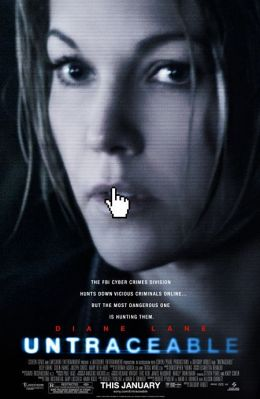"""Постер к фильму """"Не оставляющий следа"""" /Untraceable/ (2008)"""