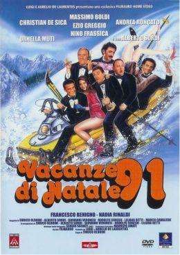 """Постер к фильму """"Рождественские каникулы"""" /Vacanze di Natale '91/ (1991)"""