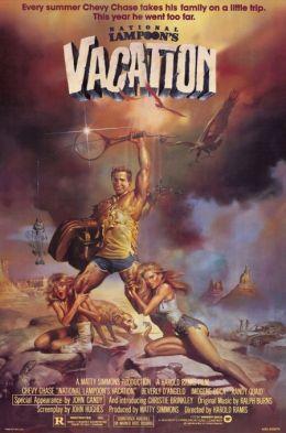 """Постер к фильму """"Каникулы"""" /National Lampoon's Vacation/ (1983)"""