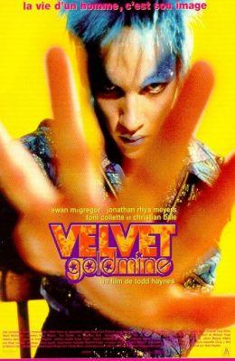 """Постер к фильму """"Шальные деньги"""" /Velvet Goldmine/ (1998)"""