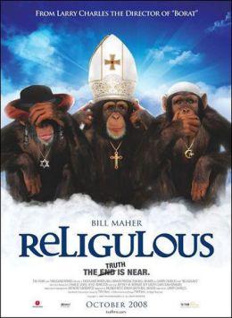 """Постер к фильму """"Верующие"""" /Religulous/ (2008)"""