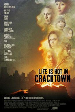 """Постер к фильму """"Веселая жизнь в Крэктауне"""" /Life Is Hot in Cracktown/ (2009)"""