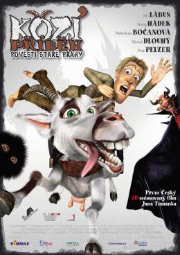 """Постер к фильму """"Веселая коза: Легенды старой Праги"""" /Kozi pribeh/ (2008)"""